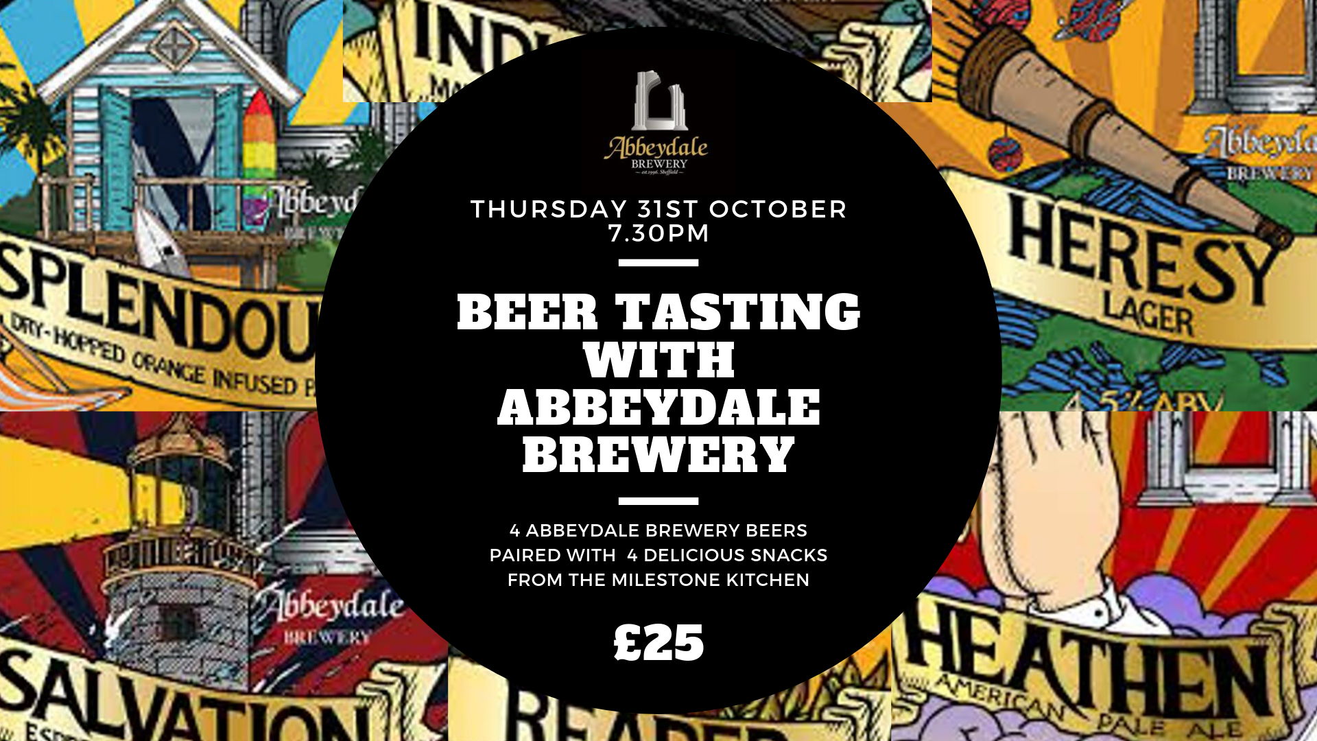 October 31st: Beer Tasting with Abbeydale Brewery